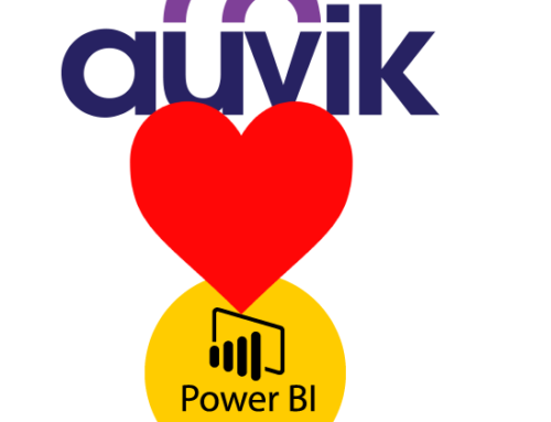 Power Bi – The future of reporting, and how Auvik are seemingly at the forefront of it