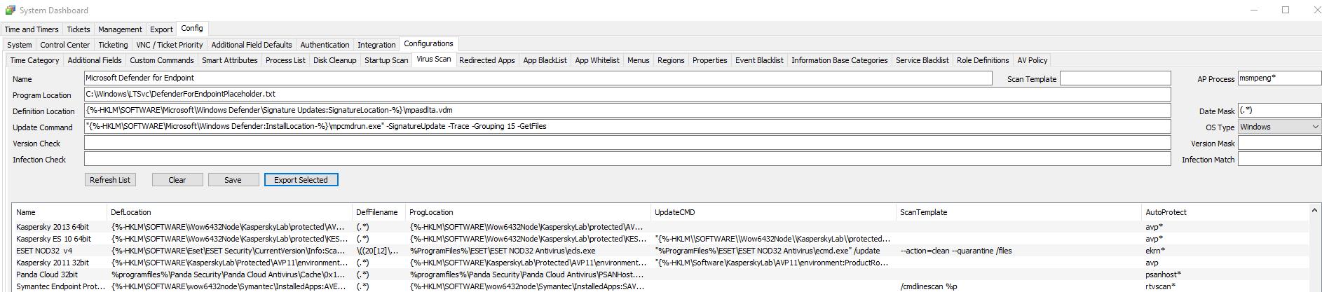Detect non-standard Antivirus (Like Defender for Endpoint) using Automate AV Detection